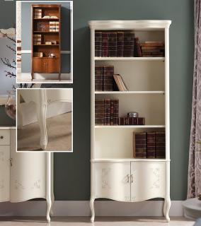 Библиотека ( книжный шкаф ) Panamar модель 725.000 белый