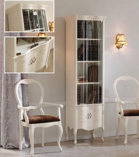 Библиотека ( книжный шкаф ) Panamar модель 727.001 белый