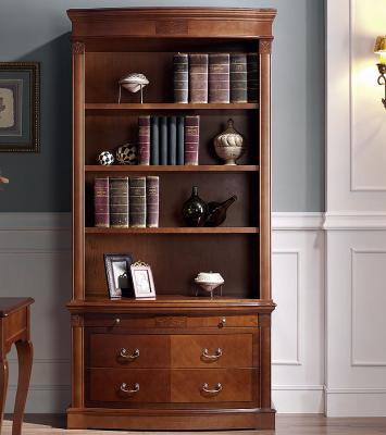 Библиотека (книжный шкаф) Panamar 825 + тумба 835