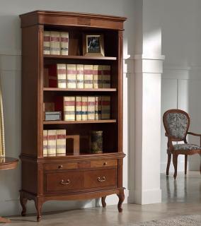 Библиотека (книжный шкаф) Panamar 825 + тумба 885
