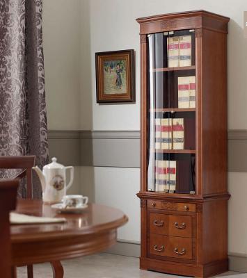 Библиотека (книжный шкаф) Panamar 827.001 + тумба 837