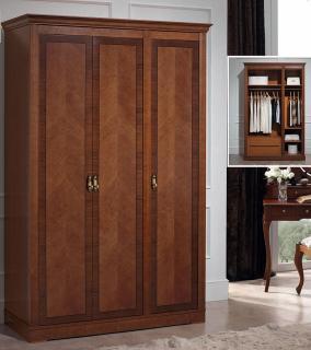 Платяной шкаф 3-х дверный Panamar модель 875.003