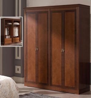 Платяной шкаф 4-х дверный Panamar модель 875.004