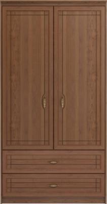 Шкаф для одежды и белья с ящиками 2-х дверный без зеркал «Лондон»