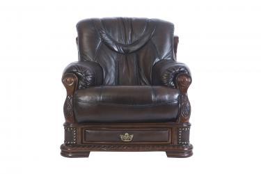 Кожаное кресло Oakman