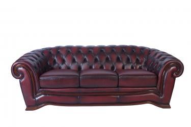 Кожаный диван Charles трехместный