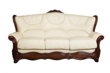 Кожаный диван Brio трехместный