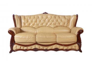 Кожаный диван Victoria трехместный