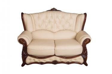 Кожаный диван Victoria двухместный