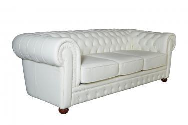 Кожаный диван Chester трехместный