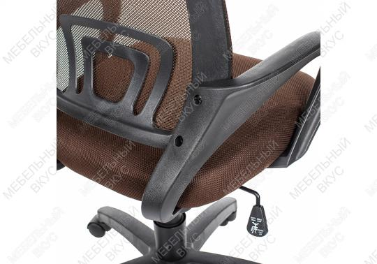 Офисное кресло Turin коричневое-4