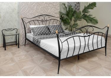 Кровать Mila 160 х 200 черная