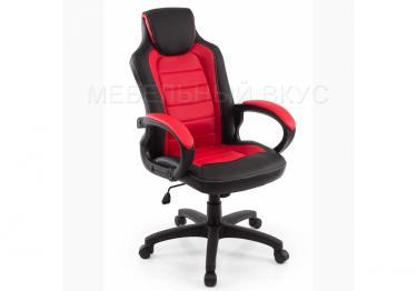 Игровое компьютерное кресло Kadis темно-красное / черное