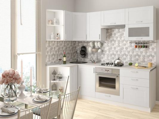 Кухня Лофт (Snow Veralinga) угловая