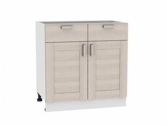 Шкаф нижний с 2-мя дверцами и 2-мя ящиками Лофт