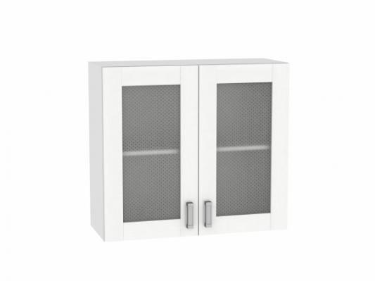 Шкаф верхний с 2-мя остекленными дверцами Лофт 800