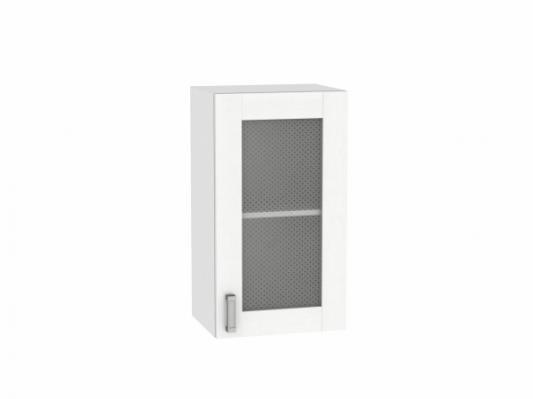 Шкаф верхний с 1-ой остекленной дверцей Лофт 400