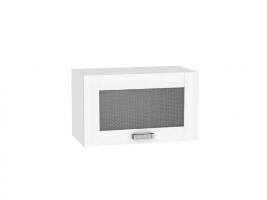 Шкаф верхний горизонтальный остекленный Лофт 600