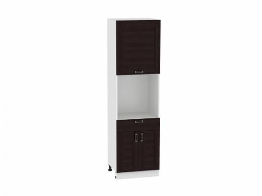 Шкаф пенал с дверцами и 1-м ящиком Лофт 600