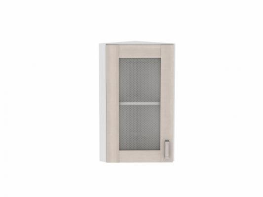 Шкаф верхний торцевой остекленный Лофт