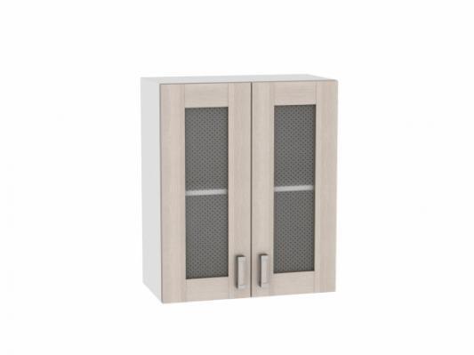 Шкаф верхний с 2-мя остекленными дверцами Лофт 600