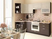 Кухня Лофт (Cappuccino Veralinga/Wenge Veralinga)