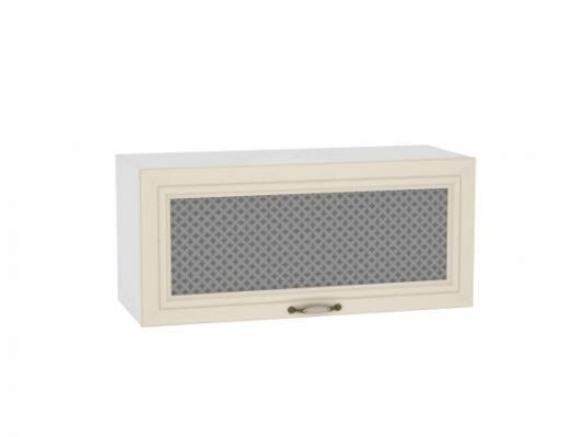 Шкаф верхний горизонтальный остекленный Шале 800
