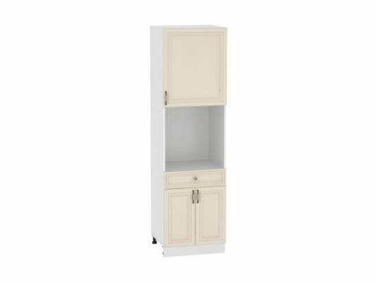 Шкаф пенал с дверцами и 1-м ящиком Шале 600