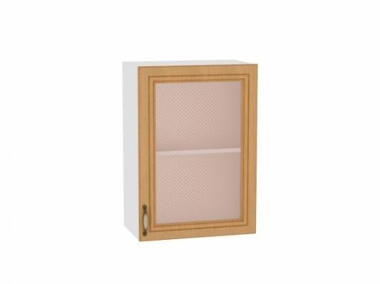 Шкаф верхний с 1-ой остекленной дверцей Шале 500