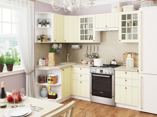 Кухня Прованс угловая (Ваниль)