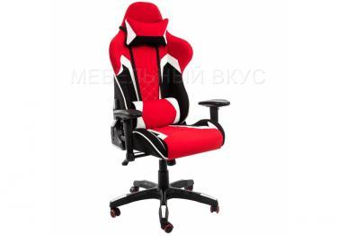 Игровое компьютерное кресло Prime черное / красное