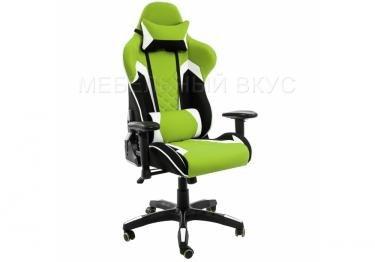 Игровое компьютерное кресло Prime черное / зеленое