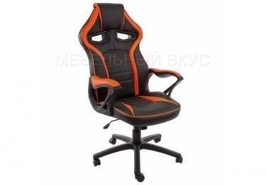 Игровое компьютерное кресло Monza черное / оранжевое