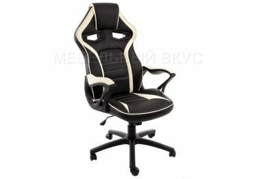 Игровое компьютерное кресло Monza черное / бежевое