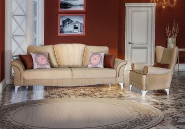 Комплект мягкой мебели Каролина