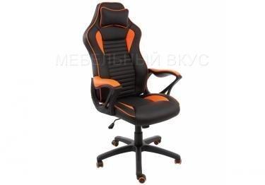 Компьютерное кресло Leon оранжевое / черное