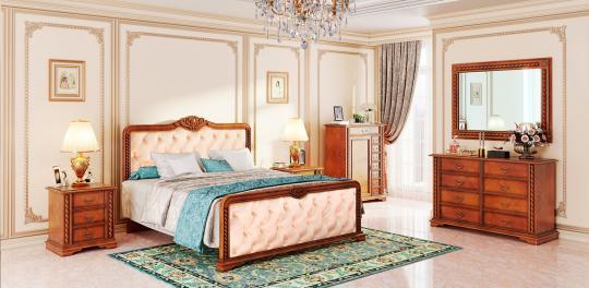 Спальня La Scala, цвет Oрех