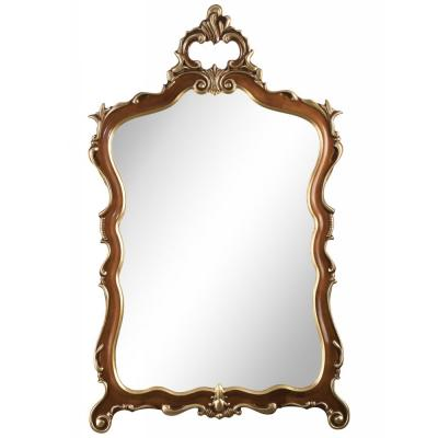 Зеркало Zzibo, цвет Орех с золотом арт. 56/1