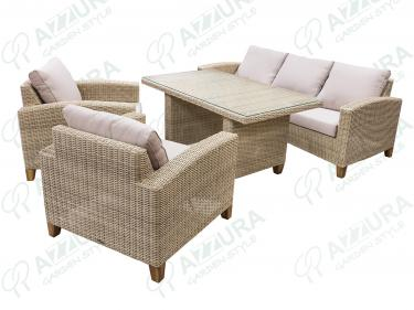 Плетеный комплект Minerva 0616-20-25