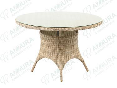 Плетеный стол Riccione диаметр 110 см 398400