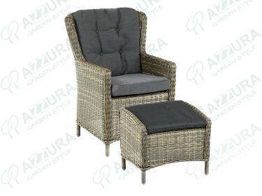 4600-7-74 Плетеное кресло Marina