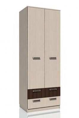 Шкаф для одежды с ящиками НМ 013.02-03 М «Рико» ЛДСП Дуб тортона