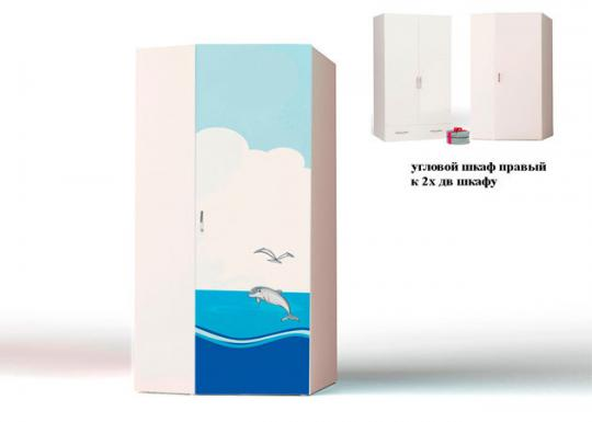 Шкаф угловой правый/левый Ocean OC-1043-1