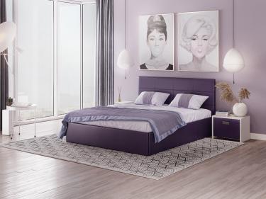 Кровать Alba с орт. решеткой 160х200