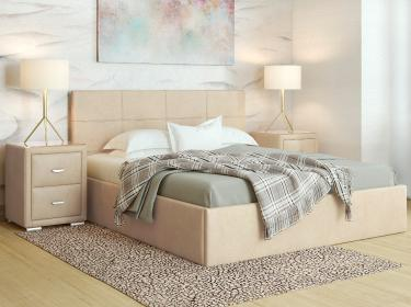 Кровать Alba с орт. решеткой 180х200