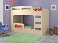 Двухъярусная кровать Дельта-Макс дуб молочный
