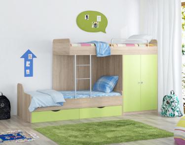 Двухъярусная Кровать Дельта - 18.04.01 СС