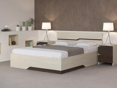 Кровать Wave Line с орт. основанием