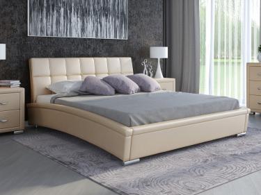 Кровать Corso-1 (Бежевый перламутр)