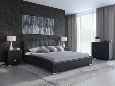 Кровать Corso-1 (Черный)